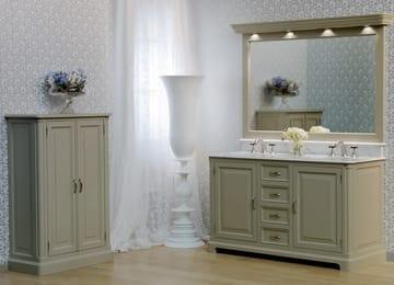 Ванная мебель аллюр сантехника элитная для ванной в казани