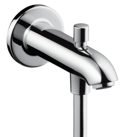 Hansgrohe Излив для ванны 152 мм 13423000 с переключателем на душ | Афоня.рф, цена 9 650 руб.