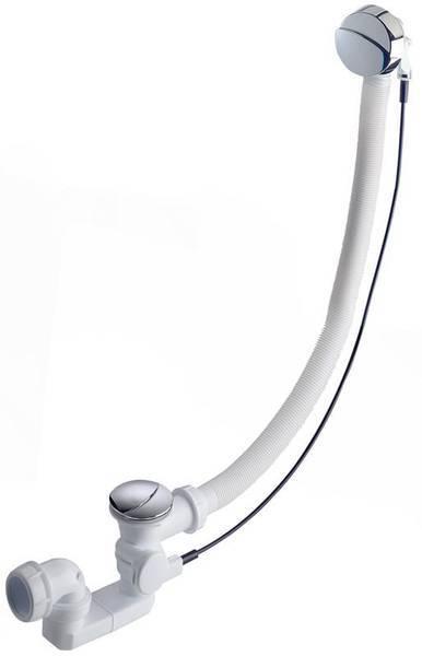 Слив ультратонкий с удлиненным переливом (до 46см) для ванн Jacob Delafon Capsule хром E6D124-CP | Афоня.рф, цена 7 350 руб.