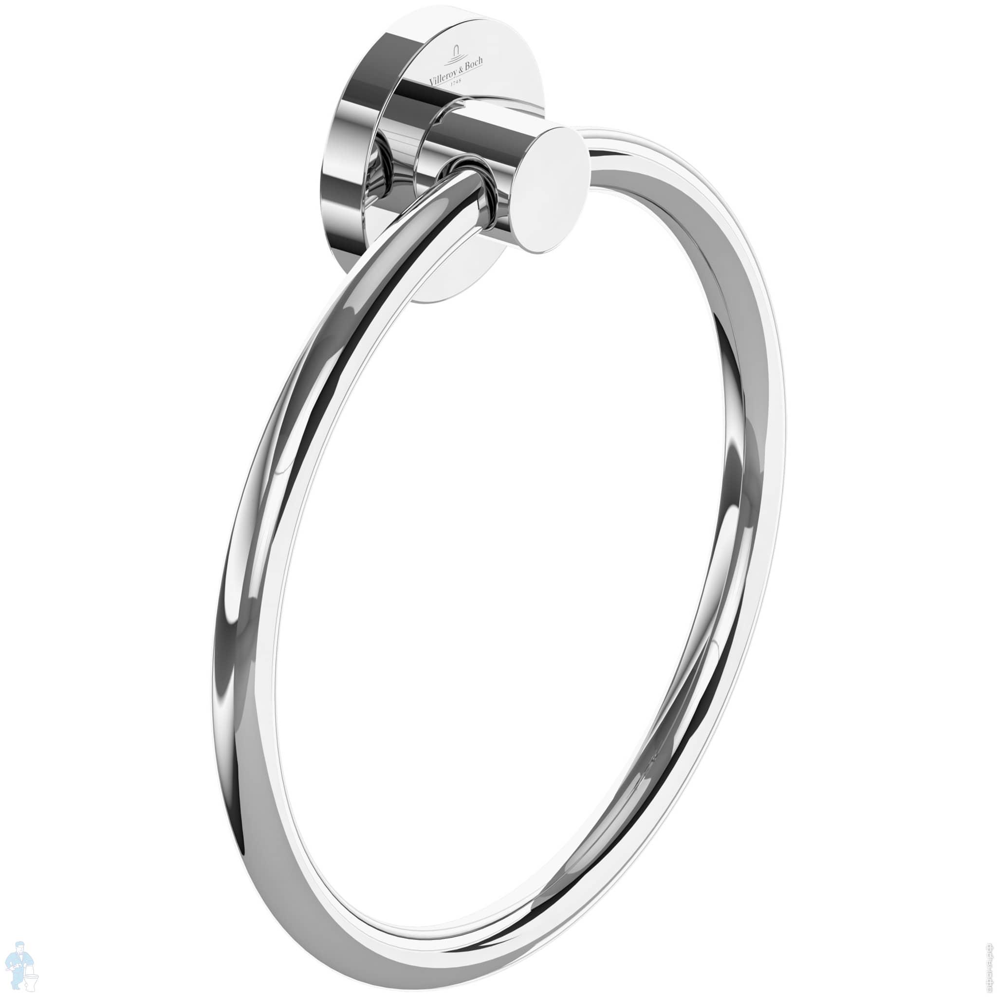 Полотенцедержатель-кольцо Villeroy & Boch ELEMENTS TENDER хром TVA15100500061 | Афоня.рф, цена 2 951 руб.