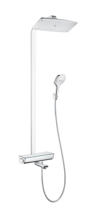 Душевая система Hansgrohe Raindance Select E 360 Showerpipe для ванны с термостатом, хром 27113000 | Афоня.рф, цена 131 390 руб.