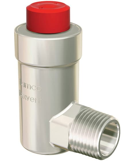 Автоматический поплавковый воздухоотводчик Flamco Flexvent H 1/2 никелированный, FL27710 | Афоня.рф, цена 743 руб.