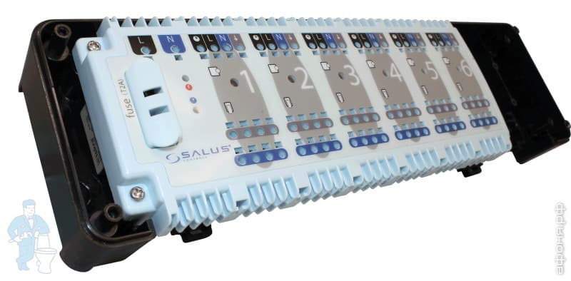 Контроллер SALUS KL 06-230V для управления теплыми полами | Афоня.рф, цена 5 353 руб.