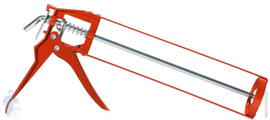 Пистолет для герметика скелетный | Афоня.рф, цена 280 руб.