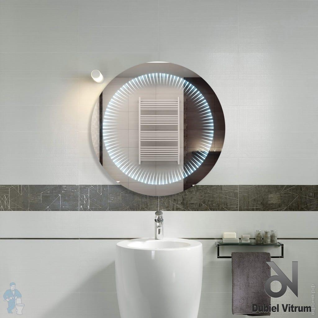 779f96ff31c8 Зеркало для ванной комнаты Dubiel Vitrum Венеция Коло (616х616) с ...