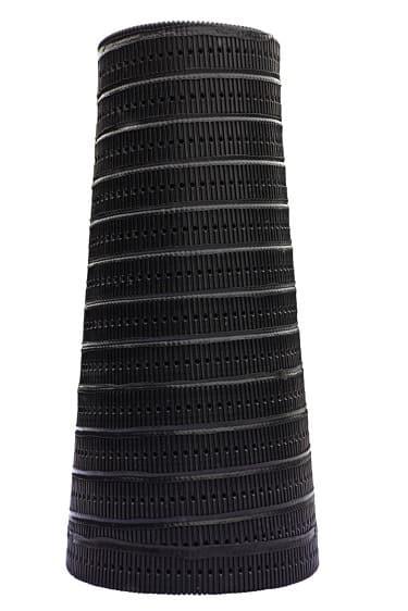 Дренажный колодец Plast Plus фильтрационный, конический, без перфорации, высота 2,0 метра | Афоня.рф, цена 6 520 руб.