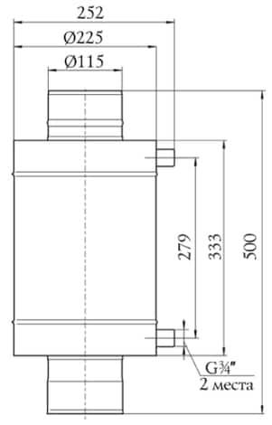 Костакан теплообменник где можно купить теплообменник на газовый котел аристон