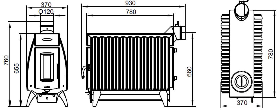 По огонь-батарея с двумя конфорками и теплообменником уплотнитель для теплообменника данфосс