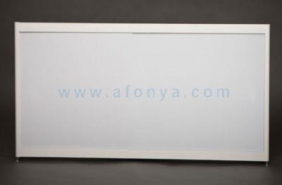 Экран под ванну боковой A-SCREEN белый матовый 800х500-650 белый профиль