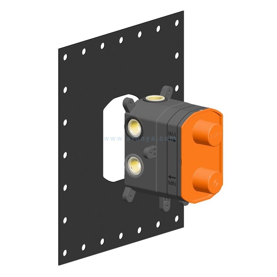Внутренние части Gessi 38269 для термостатического смесителя на 1-2-3 выхода