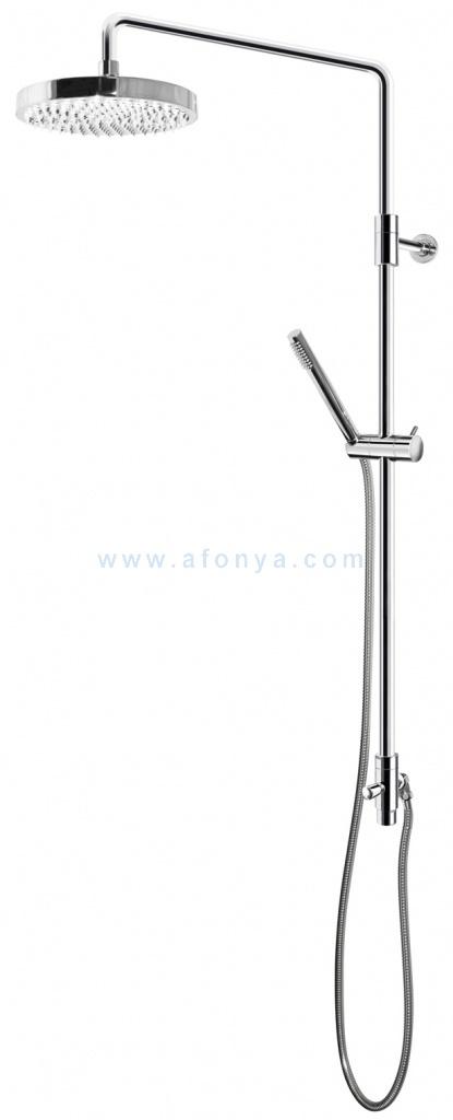 Душевой набор Gustavsberg G2 с верхним и ручным душем, стойкой GB41103220