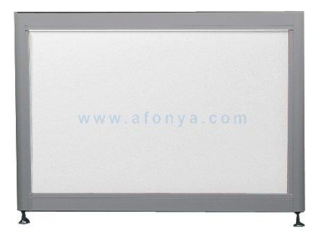 Экран под ванну боковой A-SCREEN белый глянцевый (композит) 900х500-650 серый профиль