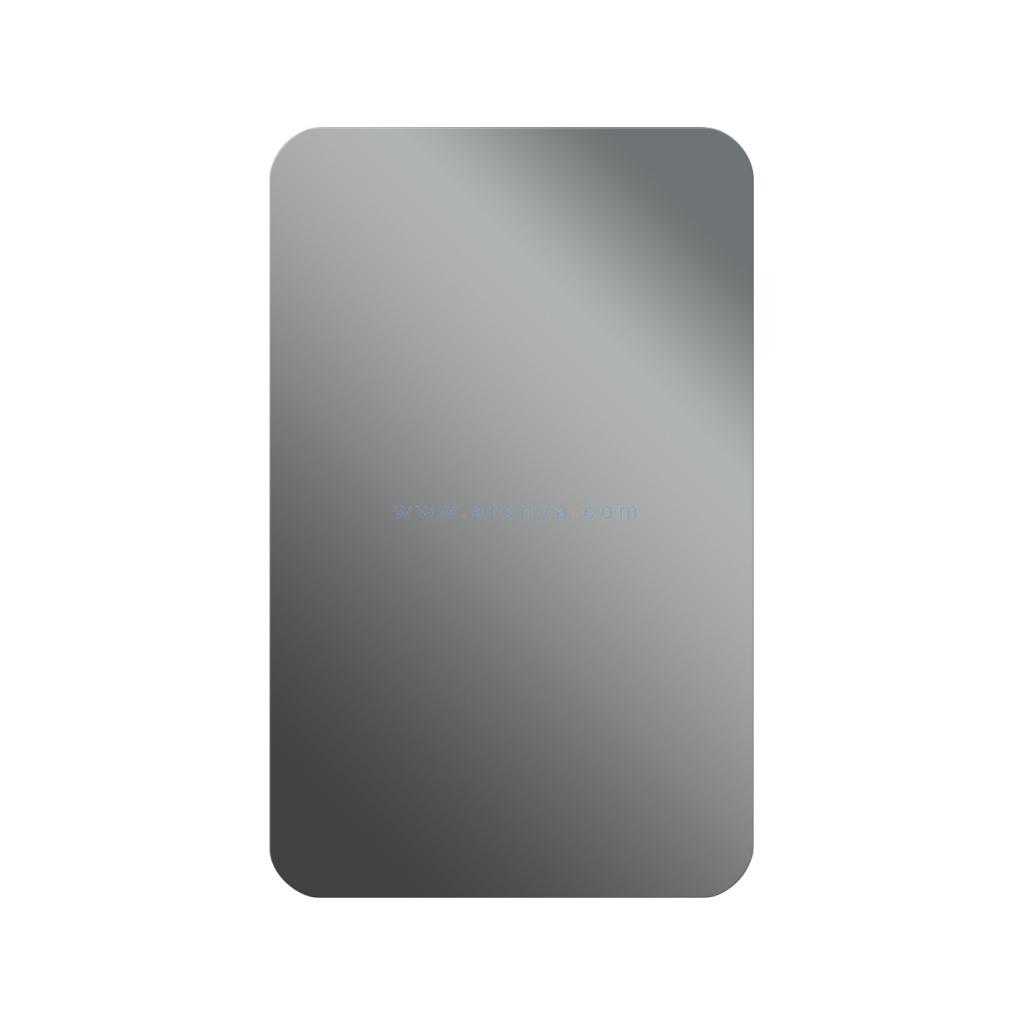 Зеркало для ванной комнаты Dubiel Vitrum Prostokat SR (500х800) прямоугольное с округлыми краями