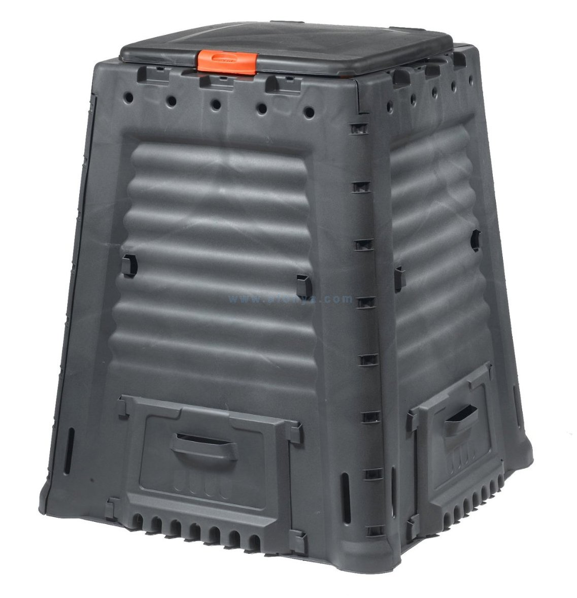 Компостер KETER MEGA COMPOSTER 650 L (87x87x107), 650л, без основания, черный