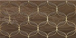 Декор VITRA Ethereal Gold Geometric Decor Soft Brown Glossy (300х600х9) K082266 (шт.)