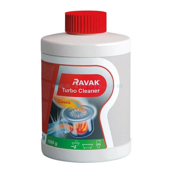 Средство для прочистки засоров RAVAK Turbo Cleaner 1000гр.