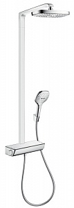 Душевая система Hansgrohe Raindance Select E 300 2jet Showerpipe с термостатом 27128000