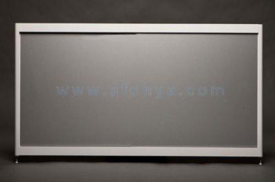 Экран под ванну боковой A-SCREEN алюминий 900х500-650 белый профиль