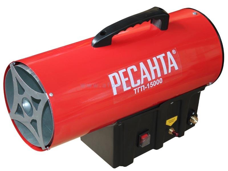 РЕСАНТА Тепловая газовая пушка ТГП-15000