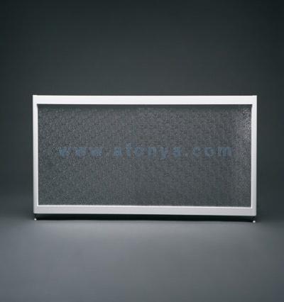 Экран под ванну боковой A-SCREEN колотый лёд 800х500-650 белый профиль