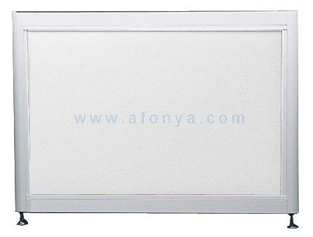 Экран под ванну боковой A-SCREEN белый глянцевый (композит) 800х500-650 белый профиль