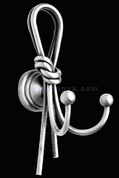Крючок двойной Sturm Luxury Ludovica никель LUX-LUD-TR415-NI