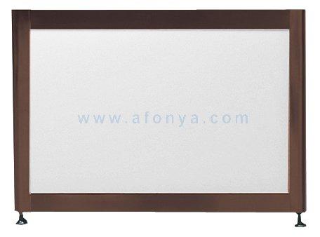 Экран под ванну боковой A-SCREEN белый глянцевый (композит) 800х500-650 профиль венге