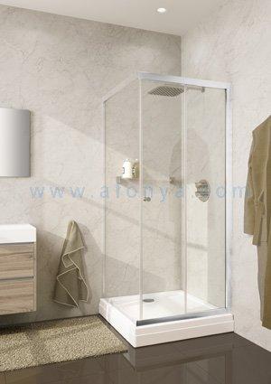 Душевая дверь (часть) RIHO LUCENA GKB32200 (800х1950) профиль хром/стекло прозрачное 6мм