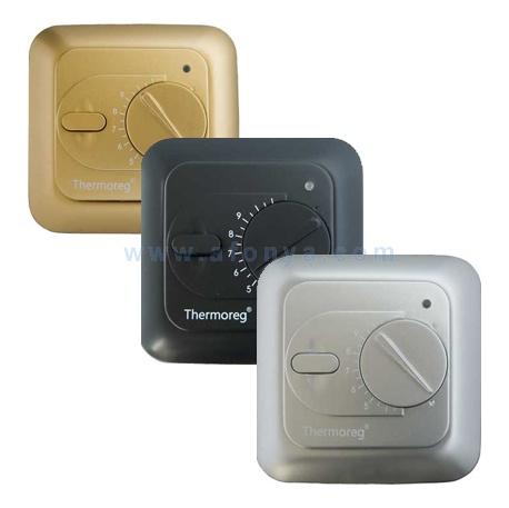 Thermo Сменная панель для терморегуляторов TI200/TI900 черная/серебро/золото