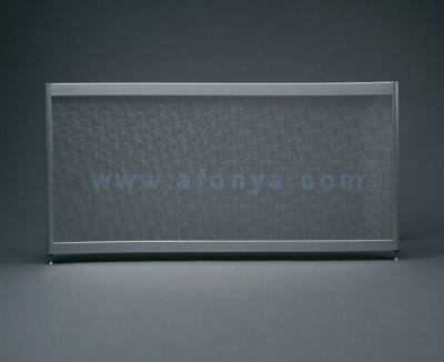 Экран под ванну боковой A-SCREEN колотый лёд 900х500-650 серый профиль